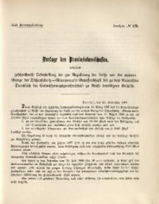 42. Provinziallandtag, Drucksache No. 125