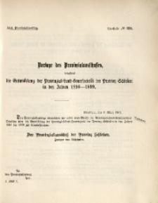 42. Provinziallandtag, Drucksache No. 138