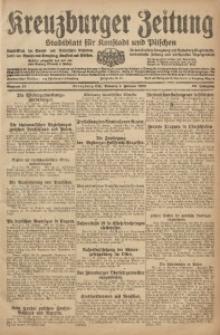 Kreuzburger Zeitung, 1920, Jg. 59, nr 13