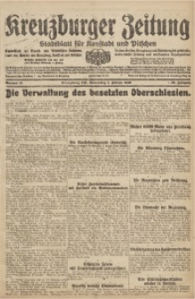 Kreuzburger Zeitung, 1920, Jg. 59, nr 15
