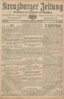 Kreuzburger Zeitung, 1920, Jg. 59, nr 84