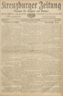 Kreuzburger Zeitung, 1920, Jg. 59, nr 124
