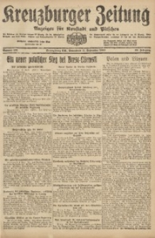 Kreuzburger Zeitung, 1920, Jg. 59, nr 185