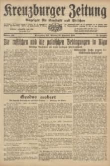 Kreuzburger Zeitung, 1920, Jg. 59, nr 199