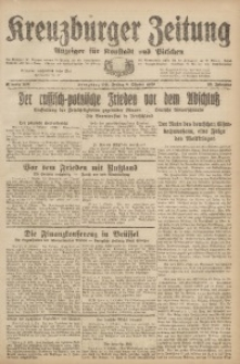 Kreuzburger Zeitung, 1920, Jg. 59, nr 208