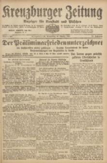 Kreuzburger Zeitung, 1920, Jg. 59, nr 213