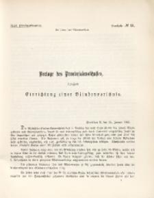 43. Provinziallandtag, Drucksache No. 51