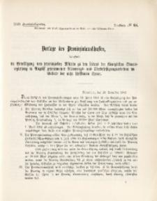 43. Provinziallandtag, Drucksache No. 68