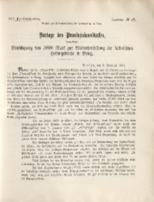 45. Provinziallandtag, Drucksache No. 47