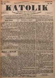 Katolik, 1894, R. 27, nr 92