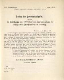 47. Provinziallandtag, Drucksache No. 57