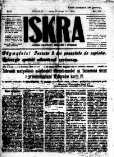 Iskra. Dziennik polityczny, społeczny i literacki, 1917, R. 8, nr 32