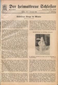 Der Heimattreue Schlesier, 1938, Jg. 13, Folge 2