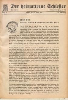Der Heimattreue Schlesier, 1938, Jg. 13, Folge 3
