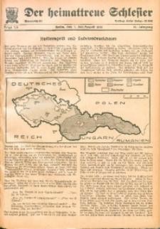 Der Heimattreue Schlesier, 1938, Jg. 13, Folge 7/8