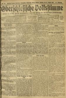 Oberschlesische Volksstimme, 1909, Jg. 35, Nr. 185