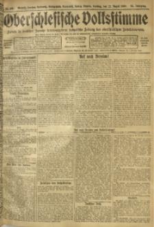 Oberschlesische Volksstimme, 1909, Jg. 35, Nr. 191