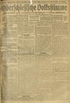 Oberschlesische Volksstimme, 1909, Jg. 35, Nr. 222