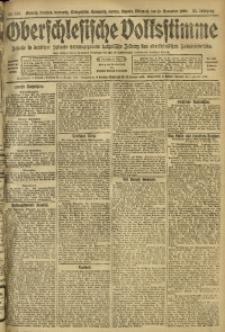 Oberschlesische Volksstimme, 1909, Jg. 35, Nr. 258
