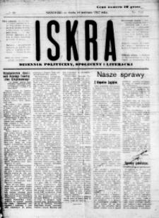 Iskra. Dziennik polityczny, społeczny i literacki, 1917, R. 8, nr 88