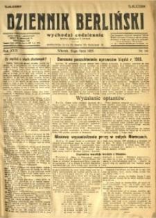 Dziennik Berliński, 1925, R. 29, nr 161