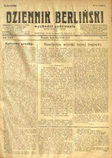 Dziennik Berliński, 1925, R. 29, nr 203