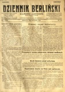 Dziennik Berliński, 1925, R. 29, nr 208