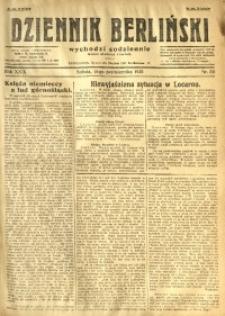 Dziennik Berliński, 1925, R. 29, nr 231