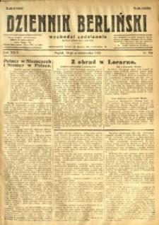 Dziennik Berliński, 1925, R. 29, nr 236