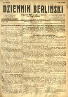 Dziennik Berliński, 1925, R. 29, nr 257