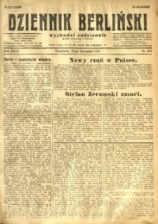 Dziennik Berliński, 1925, R. 29, nr 267