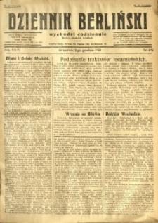 Dziennik Berliński, 1925, R. 29, nr 276