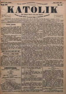 Katolik, 1895, R. 28, nr 18