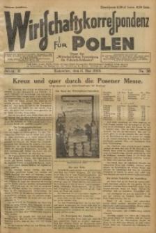 Wirtschaftskorrespondenz für Polen, 1925, Jg. 2, nr 36