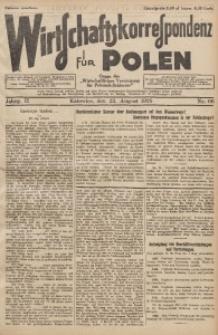 Wirtschaftskorrespondenz für Polen, 1925, Jg. 2, nr 66