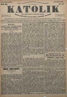 Katolik, 1895, R. 28, nr 27