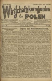 Wirtschaftskorrespondenz für Polen, 1926, Jg. 3, nr 58
