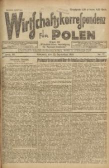 Wirtschaftskorrespondenz für Polen, 1926, Jg. 3, nr 77