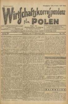 Wirtschaftskorrespondenz für Polen, 1926, Jg. 3, nr 100