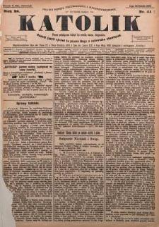 Katolik, 1895, R. 28, nr 41