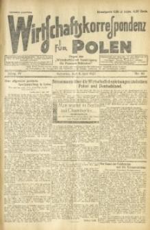 Wirtschaftskorrespondenz für Polen, 1927, Jg. 4, nr 46