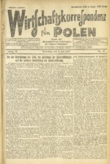 Wirtschaftskorrespondenz für Polen, 1927, Jg. 4, nr 54