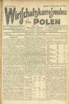 Wirtschaftskorrespondenz für Polen, 1927, Jg. 4, nr 79