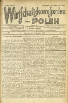 Wirtschaftskorrespondenz für Polen, 1927, Jg. 4, nr 82
