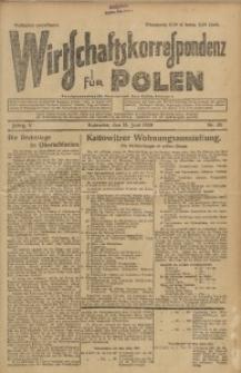 Wirtschaftskorrespondenz für Polen, 1928, Jg. 5, nr 45 [włśc. 46]