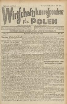Wirtschaftskorrespondenz für Polen, 1928, Jg. 5, nr 47 [włśc. 48]