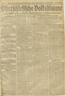Oberschlesische Volksstimme, 1910, Jg. 36, Nr. 47