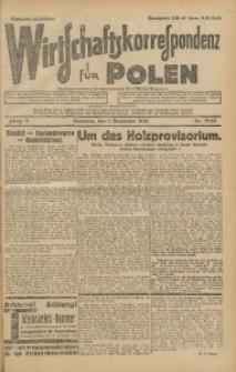 Wirtschaftskorrespondenz für Polen, 1928, Jg. 5, nr 79-80 [włśc. 80-81]