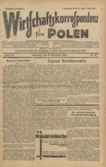 Wirtschaftskorrespondenz für Polen, 1928, Jg. 5, nr 85 [włśc. 86]