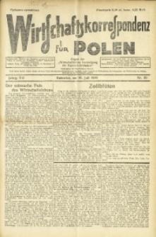 Wirtschaftskorrespondenz für Polen, 1930, Jg. 7, nr 30